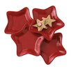 Ruby Star Plate (set Of 4)