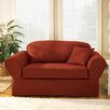 Sure Fit Twill Supreme Separate Seat Loveseat Slipcover (Box Cushion) - Sofa and Chair Shop