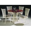 Paralline Wood Top Dining Set