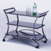 Mandalay Serving Cart Metal Topaz
