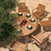 Outstanding Horizon Circular Dining Table 393 - 123
