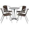 5-Piece Lukas Dining Set Flash Furniture : image