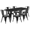 17 Stories Kingwai 7 Piece Dining Set