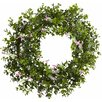 18 Mini Ivy and Floral Double Ring Wreath