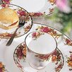 Old Country Roses 6.5 Oz Boxed Teacup  Saucer