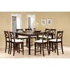 Kremmling Gathering Dining Table Set Cappuccino 588 - 15443