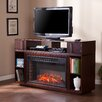 Misty TV Stand with Electric Fireplace Wildon Home � : image