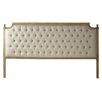 Louis Wood Headboard Finish: Ivory, Size: King