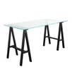 17 Stories Daryll 55 Dining Table Color Black