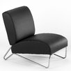 Directions East Easy Rider Chair in Black Vinyl - Sofa and Chair Shop