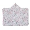 Dwell Studio Arden Printed Percale/Solid Woven Terry Hooded Bath Towel - Dwell Studio Bath Towels