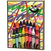 Remarkable Crayons Limited Edition Framed Canvas Scott J Menaul Size 525 215
