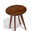 Risom Round Dining Table Style Light Walnut Base Light Walnut Top 199 1345