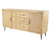 17 Stories Antuane Modern Multipurpose Brown Sideboard