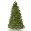 7.5' Green Ridgewood Spruce Artificial Christmas Tree with 750 Clear Lights and Stand