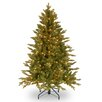 Avalon 4.5' Green Spruce Artificial Christmas Tree with 350 Clear Lights and Stand