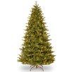 7.5' Green Woodward Fir Artificial Christmas Tree with 750 Clear Lights and Stand