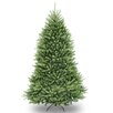 Dunhill Fir 7' Hinged Green Artificial Christmas Tree and Stand
