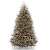 Dunhill Fir 7.5' Hinged Artificial Christmas Tree with