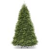 Dunhill Fir 12' Hinged Green Artificial Christmas Tree and Stand