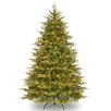 Nordic 7.5' Green Spruce Artificial Christmas Tree with 900 Clear Lights and Stand