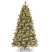 7.5' Blue Pine Artificial Christmas Tree with 650 Clear Lights and Stand