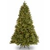 Douglas 7.5' Green Fir Artificial Christmas Tree with 750 Clear Lights and Stand