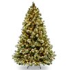 Wintry Pine 9' Green Artificial Christmas Tree with 900 Clear Lights and Stand