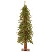 Hickory Cedar 4' Green Artificial Christmas Tree with Unlit