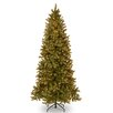 Douglas 9' Green Fir Artificial Christmas Tree with 800 Clear Lights and Stand
