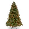 Douglas 7.5' Green Fir Artificial Christmas Tree with 750 Multi Lights and Stand