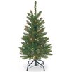 3' Green Kingswood Fir Artificial Christmas Tree