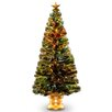 Fiber Optic Radiance Fireworks 5' Green Artificial Christmas Tree