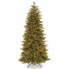Fraser 7.5' Green Fir Artificial Christmas Tree with 800 Clear Lights and Stand