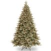 7.5' Green Spruce Artificial Christmas Tree with 750 Clear Light and Stand