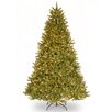 Grande Fir 9' Green Artificial Christmas Tree with 1100 Clear Lights and Stand