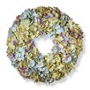 18 Fabric Hydrangea Wreath