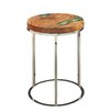 17 Stories Lebel End Table Table Top Color Green