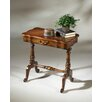 Remarkable Plantation Scalloped Accent Table 417 1659