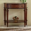 View Plantation Demilune Console Table Single Drawer 371 1334