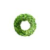 Boxwood Country Manor Round Wreath Size: 2