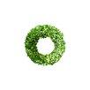 Boxwood Country Manor Round Wreath Size: 2