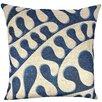 The Watson Shop Swirling Shibori Cotton Throw Pillow - The Watson Shop Cushions