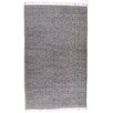 17 Stories Slyvia Hand Knotted Cotton Gray Area Rug