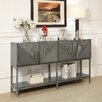 17 Stories Gaspar 4 Door 60 TV Stand