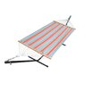 Stripe Hammock with Hammock Stand