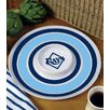 Tampa Bay Rays 14 Melamine Chip And Dip