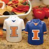 Illinois Gameday Salt And Pepper Shakers