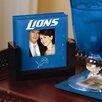 Detroit Lions Art Glass Coaster Set