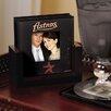 Houston Astros Art Glass Coaster Set